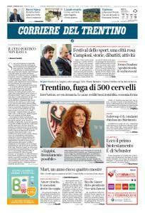 Corriere del Trentino - 1 Febbraio 2018