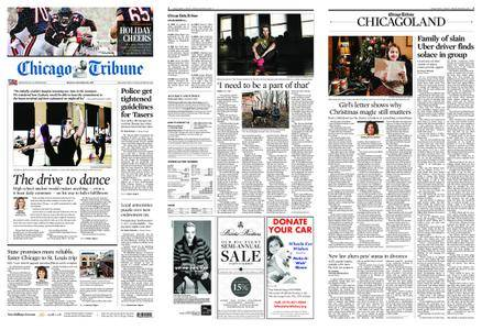 Chicago Tribune – December 25, 2017