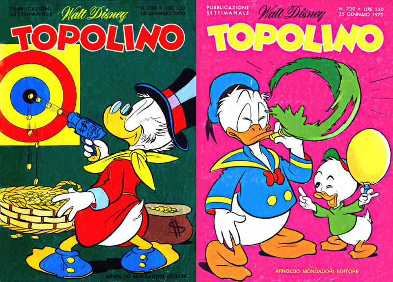 Topolino n. 738 e 739 (gennaio 1970)