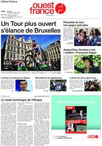 Ouest-France Édition France – 06 juillet 2019