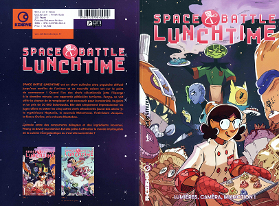 Space Battle Lunchtime - Tome 1 - Lumieres, Camera, Miamction!