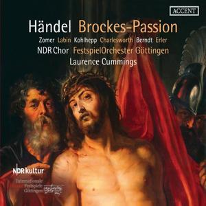 NDR Chor, Festspiel Orchester Gottingen, Laurence Cummings - Handel: Brockes-Passion (2019)