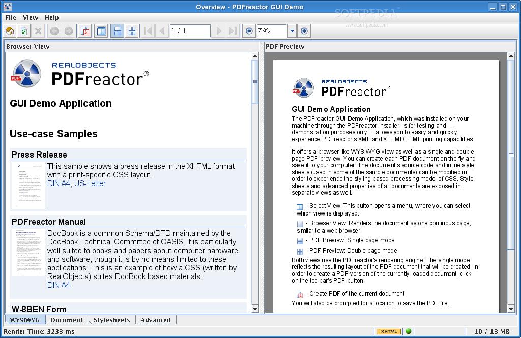 PDFreactor Enterprise Site Edition