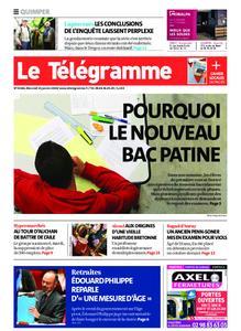 Le Télégramme Quimper – 15 janvier 2020