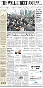 The Wall Street Journal – 12 June 2019