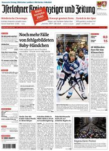 Iserlohner Kreisanzeiger – 16. September 2019