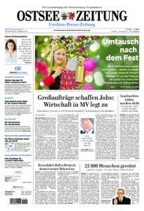 Ostsee Zeitung Wolgast - 28. Dezember 2017