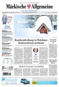 Märkische Allgemeine Zossener Rundschau - 12. Januar 2019