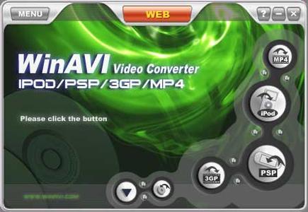 WinAVI 3GP-MP4-PSP-iPod Video Converter v.2.2