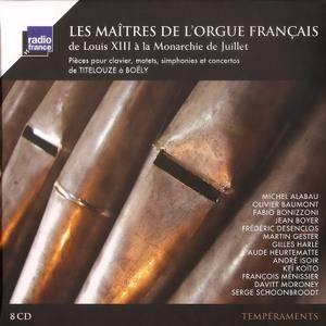 Les Maitres De L'Orgue Francais De Louis XIII À La Monarchie De Juillet (2014) (8CD Box set) {Radio France}