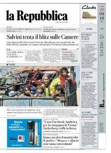 la Repubblica - 20 Marzo 2018
