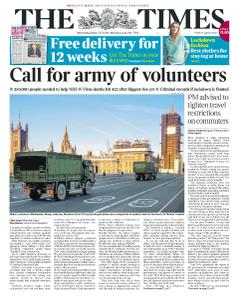 The Times - 25 March 2020