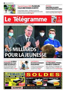 Le Télégramme Quimper – 24 juillet 2020