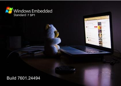 Windows Embedded Standard 7 SP1 build 7601.24494