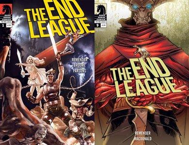 The End League #1-9 (2007-2009) Complete