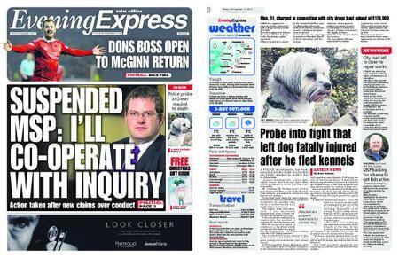 Evening Express – November 17, 2017