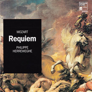 Philippe Herreweghe, Orchestre des Champs-Elysees - Mozart: Requiem K.626, Kyrie K.341 (1997)