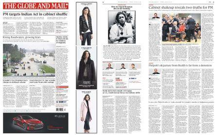 The Globe and Mail – August 29, 2017