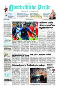 Oberhessische Presse Hinterland - 11. Juli 2018