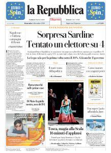 la Repubblica - 8 Dicembre 2019