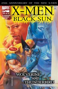 Black Sun 005 Wolverine and Thunderbird 2000 Digital Shadowcat
