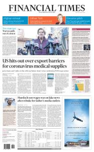 Financial Times USA - 6 March 2020