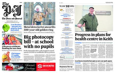 The Press and Journal Moray – December 24, 2018