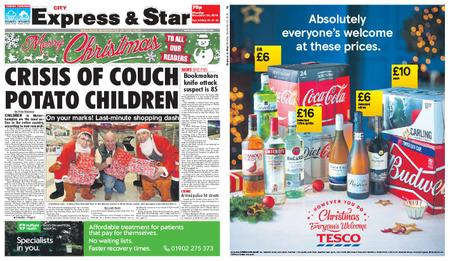 Express and Star City Edition – December 24, 2018