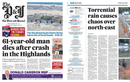The Press and Journal Moray – December 07, 2020