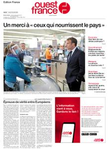 Ouest-France Édition France – 23 avril 2020