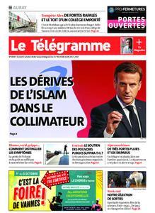 Le Télégramme Auray – 03 octobre 2020