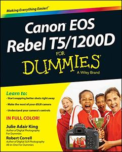 Canon EOS Rebel T5/1200D For Dummies [Repost]