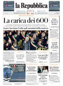 la Repubblica - 11 Dicembre 2019