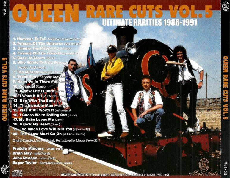 Queen - Rare Cuts Vol  5 (2012) {Remastered, Japan} / AvaxHome