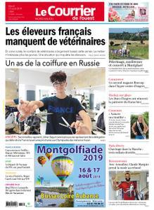 Le Courrier de l'Ouest Nord Anjou – 13 août 2019