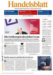 Handelsblatt - 19. September 2016