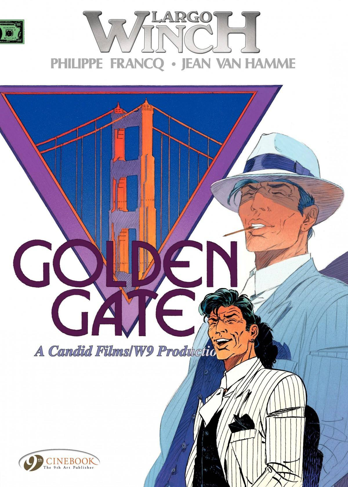 Largo Winch 007 - Golden Gate 2011 Cinebook digital