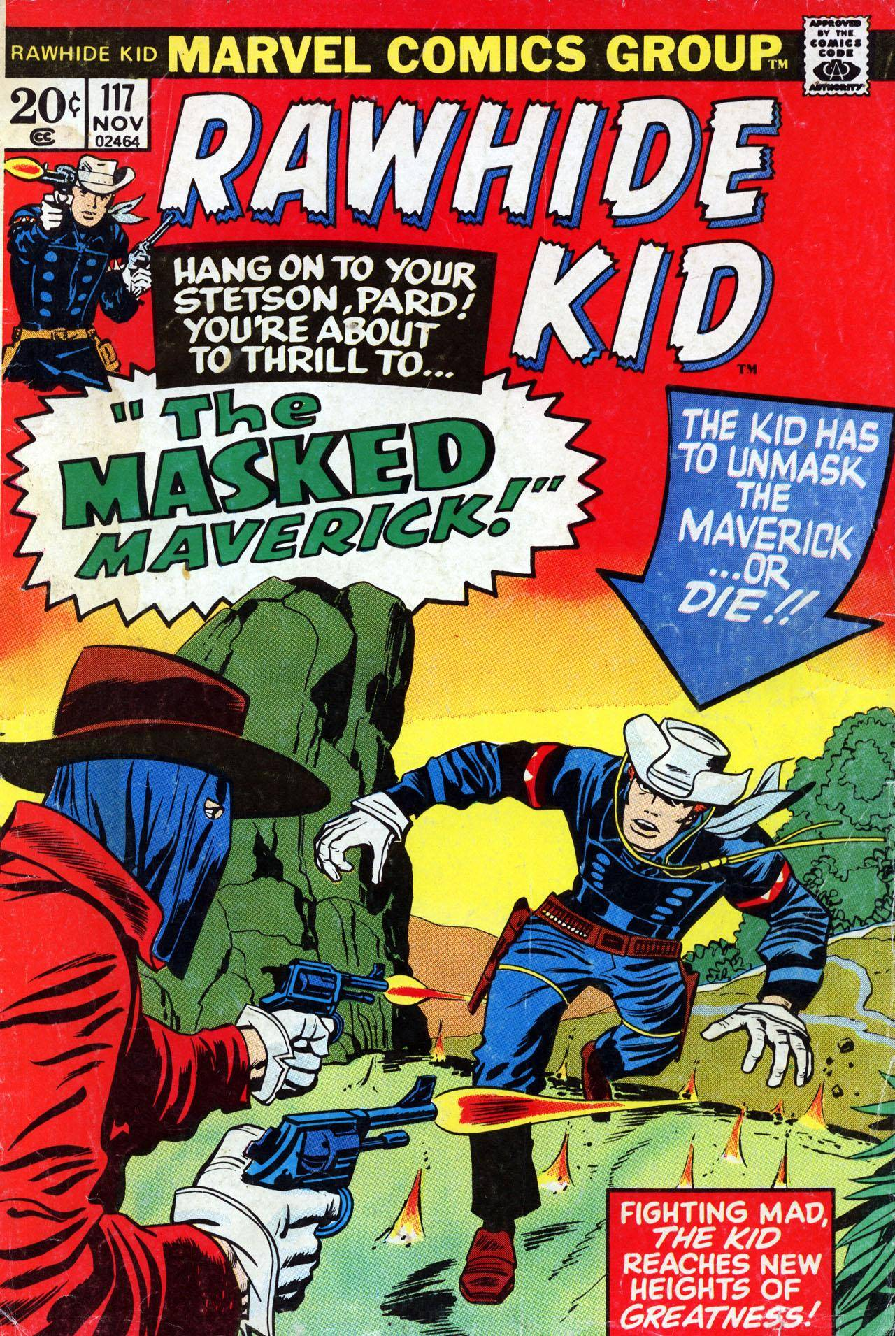 Rawhide Kid v1 117 1973 Gambit