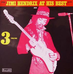 Jimi Hendrix - Jimi Hendrix At His Best (Volume 3) (1972) [Vinyl Rip 16/44 & mp3-320 + DVD]