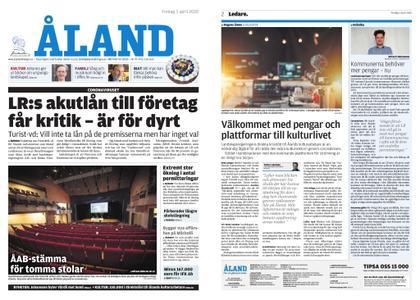 Ålandstidningen – 03 april 2020