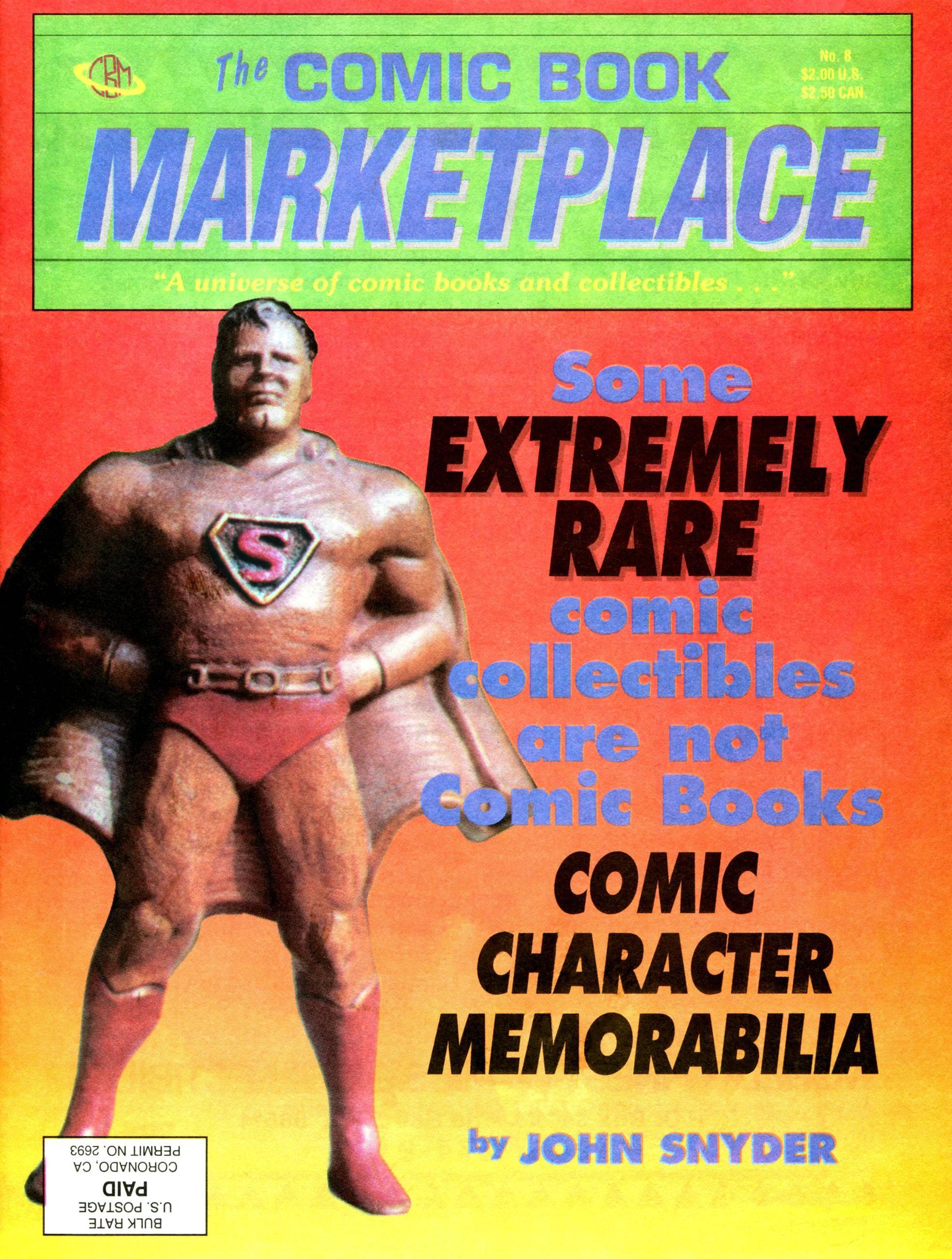 Comic Book Marketplace 008 1991