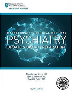 Massachusetts General Hospital Psychiatry Update & Board Preparation Ed 4