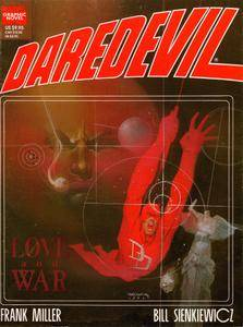 Marvel Graphic Novel 24 - Daredevil - Love  War 1986