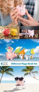 Photos - Different Piggy Bank Set