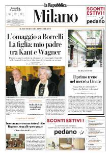 la Repubblica Milano - 21 Luglio 2019