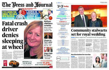 The Press and Journal Moray – April 19, 2018