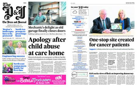The Press and Journal Moray – October 24, 2018