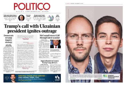 Politico – September 26, 2019