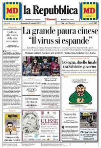 la Repubblica - 26 Gennaio 2020