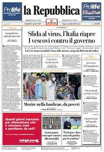 la Repubblica - 27 Aprile 2020
